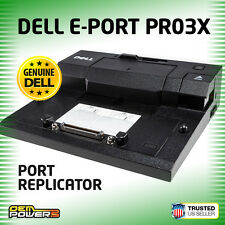 Dell Latitude E5420 E5520 E6220 E6320 E6410 E-Port Replicator Dock Station PR03X