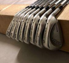 TaylorMade Burner Midsize Foam Filled Irons 3-PW Stiff Flex Steel Golf Club Set