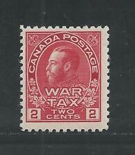 CANADA # MR2 MNH KING GEORGE V, WAR TAX