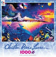 CEACO CHRISTIAN RIESE LASSEN JIGSAW PUZZLE GALAXY OF LIFE 1000 PCS #3388-2