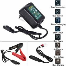 6V &12 Volt Trickle Battery Charger Maintainer Tender Car Truck Motorcycle Mower