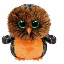 Ty Beanie Boos Plush - Halloween Midnight Owl 15cm.