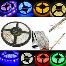 5M- 50M 3528 12V 60leds/M RGB UV Orange Warm White Yellow LED Strip Light