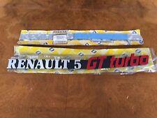 Renault 5 GT TURBO Monogramme NEUF