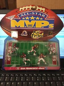 1997 San Francisco 49ers MVP's Action Figures ALL-STAR Edition New & Sealed Toy