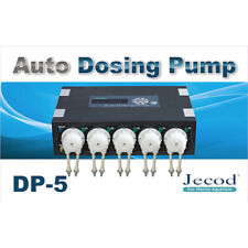 New Jebao Auto Dosing Pump DP-5 Aquarium Reef Marine Doser 5 Channel UK Stockist