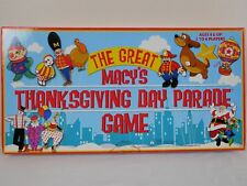 The Great Macy's Thanksgiving Day Parade Game -  Excellent Complete 2003