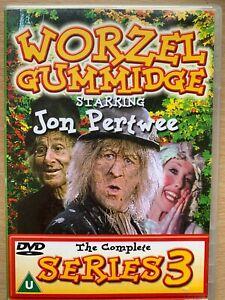 Worzel Gummidge Series 3 DVD Box Set Classic Cult Kids Show Rare Complete