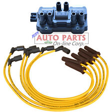 IGNITION COIL + FULL WIRES SET fit SILVERADO 1500 V6 4.3L 2007-2013 EXPRESS 1500
