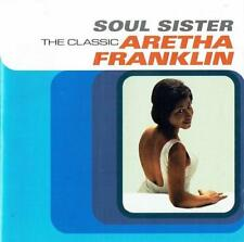 ARETHA FRANKLIN Soul Sister - The Classic NEW & SEALED SOUL R&B POP CD (COLUMBIA