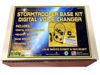 STORMTROOPER HELMET DIGITAL VOICE CHANGER BASE KIT W/ SPEAKER & MICROPHONE