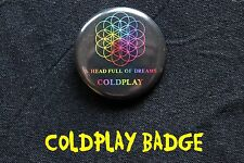Coldplay - Button Badge Anstecker - A Head Full Of Dreams