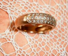 Brillantring Rosegold 585 mit 43 Brillanten = 0,38 ct., Gr.17,5 = 55