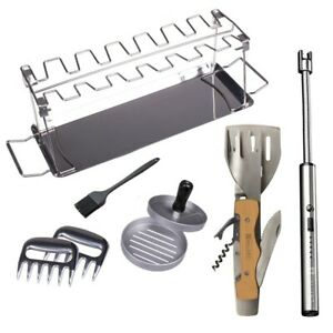 Valiant Deluxe BBQ Tools and Accessories Kit