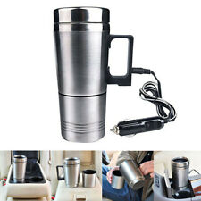 12V 500ml Stainless Steel Kettle Car Cup Pot Water Heater Warmer Cigar Lighter