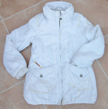 GIRLS IVORY QUILTED JACKET - DIESEL - SIZE 7