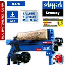 scheppach Holzspalter Spalter Brennholz Hl650 6 5t