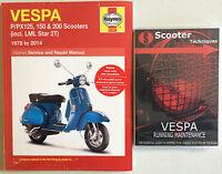 Vespa P/PX/T5  LML Star 125, 150 & 200 with The Vespa Running Maintenance DVD