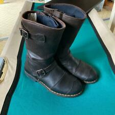 Belstaff Endurance Boots Black Brown Color Size 41 USED japan shipping