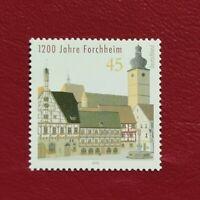 Alemania Federal año 2005 1200 aniversario de la Villa de Forchheim Nº 2262 MNH