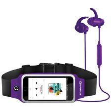 HyperGear ActiveGear Bluetooth Wireless Earphones Set - w/Mic + Sport Belt