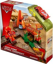 Disney / Pixar Cars Story Sets Cozy Cone Motel Spiral Rampway Playset