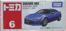 Takara Tomy Tomica #6 SUBARU BRZ 1/60 Diecast Toy Car JAPAN Bubble