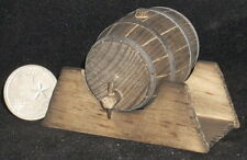 Western Wooden Beer Barrel / Keg AS IS 1:12 Scale Weathered WO1942 - 9753