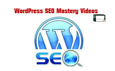 Wordpress Website SEO Mastery Video Course..cd/dvd