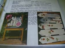 Summer Clutter '94 Painting Packet, Strawberries, Birdhouse & Crow By Kulchock