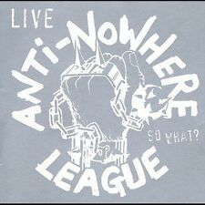 Anti-Nowhere League - So What? (CD 1999) Live