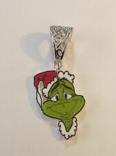 Grinch Face Pendant Charm Necklace Grinch Who Stoled Christmas