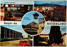 Cartolina Saluti Da Nichelino Viaggiata