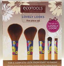 ECO TOOLS Lovely Looks 5 piece Brush Set+FREE gift
