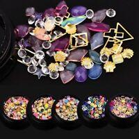 dekor diy - kunst - tipps 3d - kristalle glitzern diamanten nagel strasssteine
