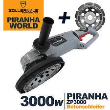 ZOLLERNALB Piranha ZP3000 Multi+ 180mm Betonfräse Betonschleifer Sanierungsfräse