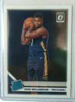 Zion Williamson 2019-20 Donruss Optic Rated Rookie # 158 super hot rookie invest