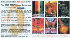 STAR TREK CINEMA COLLECTION 1994 SKYBOX WIDEVISION PROMO CARD SEND AWAY
