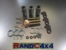 320609-3 Land Rover Series 2 2a 3 Door Lock Barrel & Key Kit Set of 3