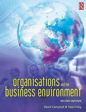 NEW Organisations and the Business Environment by Tom Craig