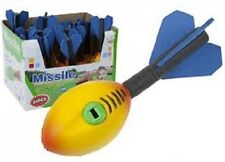 "12 X 7"" Espuma Volador Cohete Con Sonido niños juguete juego silbando Relleno Bolsa Fiesta"