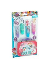 My Little Pony Girl's 5 Piece Lip Gloss with Collectible 3D Tin - Cooler New NIB