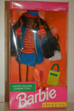 Barbie United Colors of Benetton Christie shopping