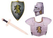 Ritterkostüm, Ritterrüstung, Helm, Schwert und Schild / Kostüm, Verkleidung