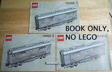 Lego 10022 INSTRUCTION BOOK: Santa Fe Train Cars * BOOK ONLY, NO LEGO