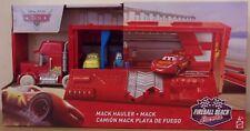 Disney Pixar Cars ~ ~ Camión Transportador Mack bola de fuego Playa Racers