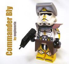 LEGO Custom -- Commander Bly -- Star Wars Clone Trooper Minifigure rex gree fox