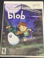 A Boy and His Blob Nintendo Wii Tested Working Game and Case, No Manual