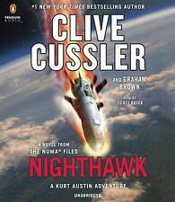 Clive Cussler NIGHTHAWK Unabridged CD *NEW* FAST Ship!