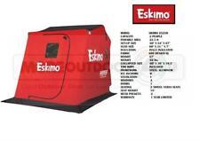 29250BL Eskimo Sierra Black Thermal Insulated Flip Ice Fishing Shelter Shanty
